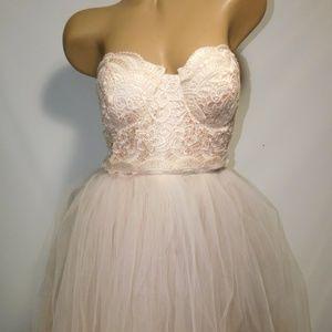 NWT London Strapless Dress Sz 12